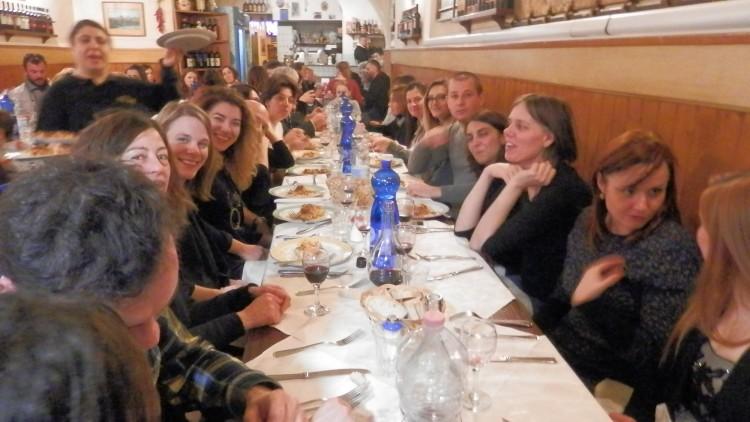 Cena di fine anno – Firenze 13 gennaio 2018